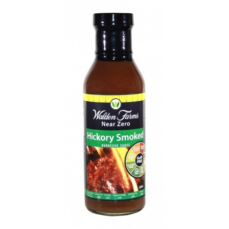 WALDEN FARMS HICKORY SMOKED BARBECUE SAUCE 340gr