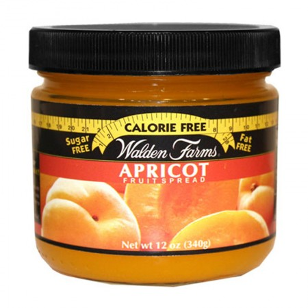 WALDEN FARMS APRICOT FRUIT SPREAD 340gr