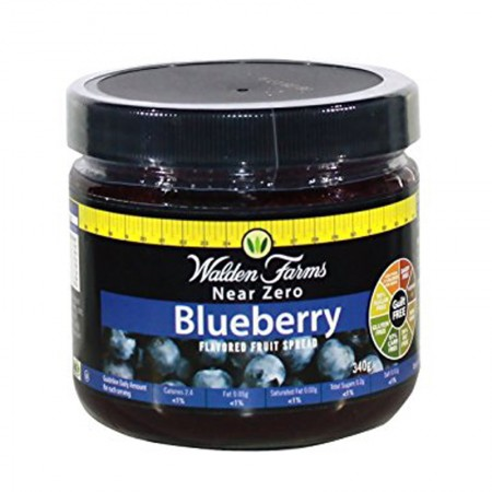 WALDEN FARMS BLUEBERRY FRUIT SPREAD 340gr