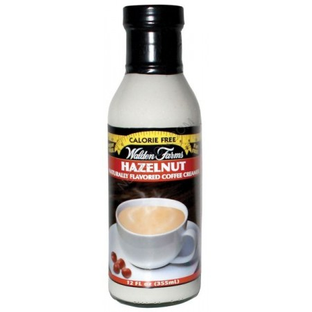 WALDEN FARMS HAZELNUT COFFEE CREAMER 355ml