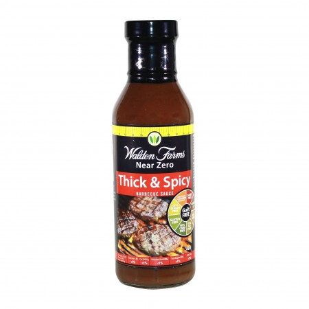WALDEN FARMS THICK & SPICY BARBECUE SAUCE 340g
