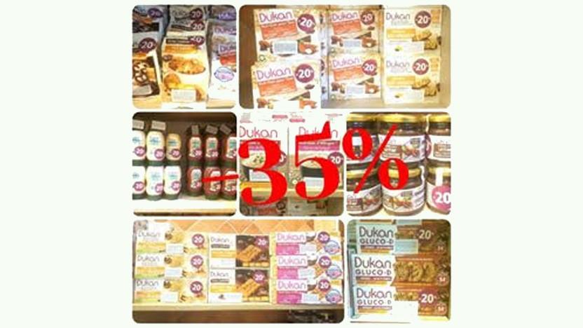 Έκπτωση 35% στα Προϊόντα Dukan έως και τη Δευτέρα 26/02/2018