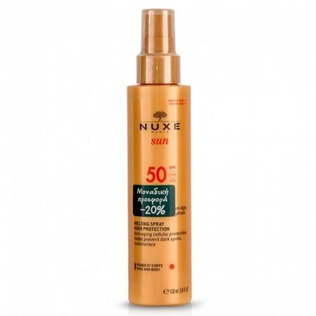 PNUXE SUN SPRAY SPF50 150ML -20%