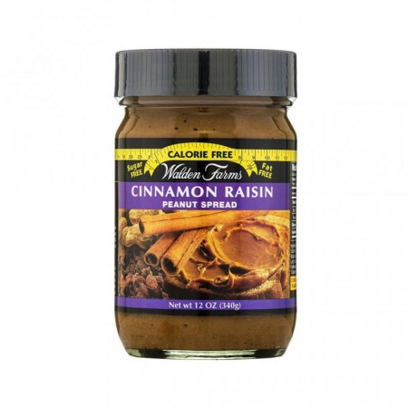 WALDEN FARMS CINNAMON RAISIN PEANUT SPREAD 340GR