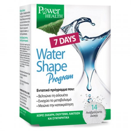 POWER HEALTH 7DAYS WATER SHAPE PROGRAM,14 ANABΡ.ΔΙΣΚΙΑ