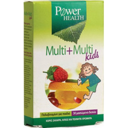 POWER HEALTH MULTI+MULTI KIDS, 30s