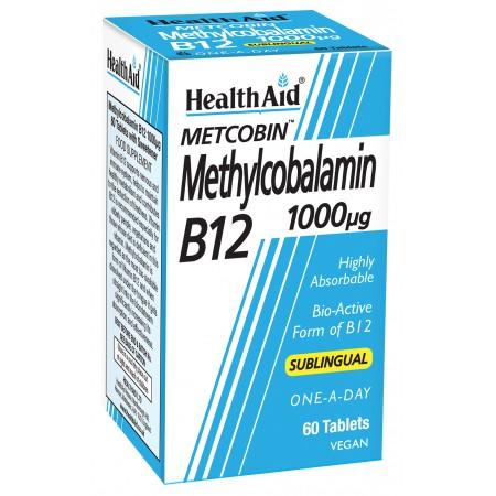HEALTH AID METCOBIN B12 1000μg 60tabs