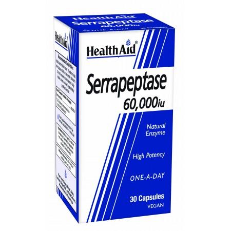 HEALTH AID SERRAPEPTASE 60.000iu 30 CAPS