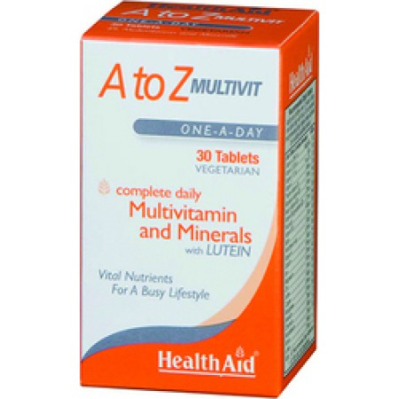 HEALTH AID A TO Z MULTIVIT 30TABS