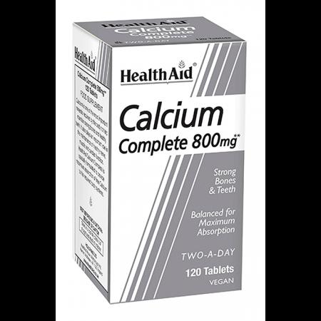 HEALTH AID BALANCED CALCIUM COMPLETE 800MG 120TABS