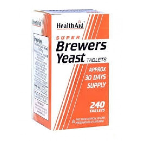 HEALTH AID SUPER BREWERS YEAST 240TABS