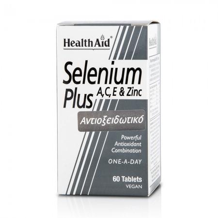 HEALTH AID SELENIUM PLUS 200 μg 60 TABS