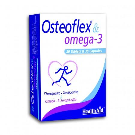 PHEALTH AID OSTEOFLEX & OMEGA-3  30TABS+30CAPS