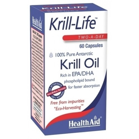 HEALTH AID KRILL-LIFE -KRILL OIL 500MG -60CAPS