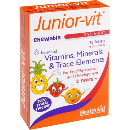 HEALTH AID JUNIOR-VIT 30 tabs