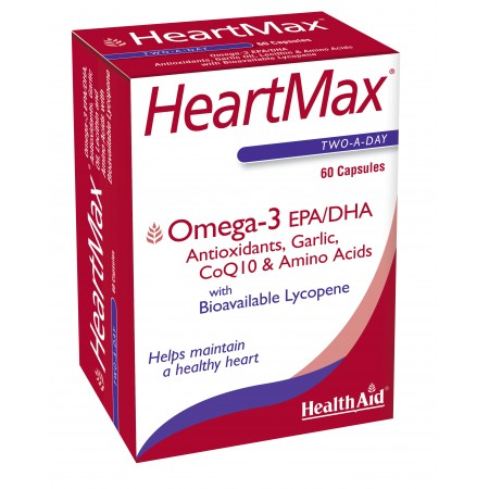 HEALTH AID HEART MAX 60CAPS