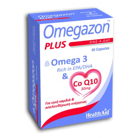 HEALTH AID OMEGAZON  PLUS   60 CAPS