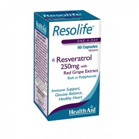 HEALTH AID REZOLIFE RESVERATROL 250mg60c