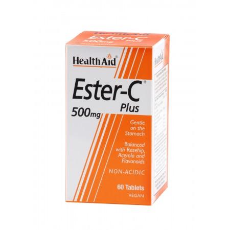 HEALTH AID BALANCED ESTER C 500MG 60TABS