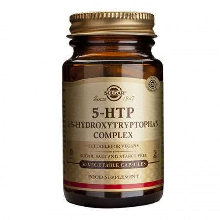 SOLGAR 5-HTP (HYDROXYTRYPTOPHAN) 100MG VEG.CAPS 30S