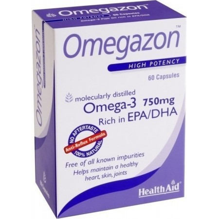 HEALTH AID OMEGAZON 60CAPS