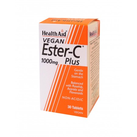 HEALTH AID BALANCED ESTER C 1GR 30TABS