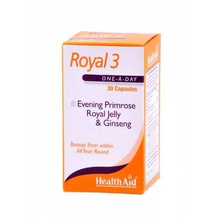 HEALTH AID ROYAL-3 ROYAL JELLY 30CAPS