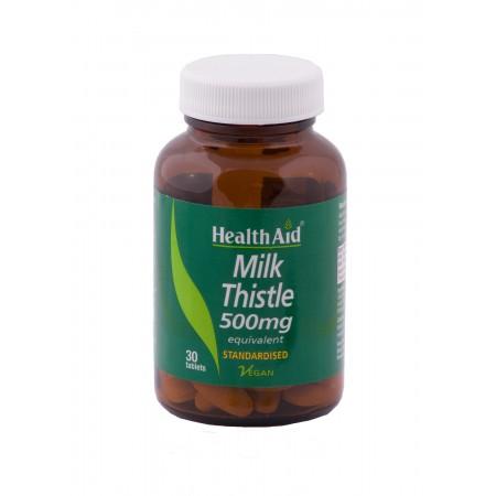HEALTH AID MILK THISTLE SEED EXTRACT 30TABS