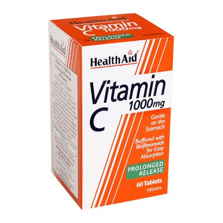 HEALTH AID VITAMIN C 1GR 60TABS-ECONOMY