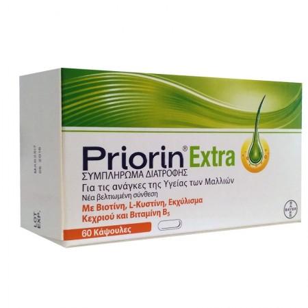 PRIORIN 60 ΚΑΨΟΥΛΕΣ PRIORIN EXTRA   -20%