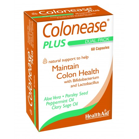 HEALTH AID COLONEASE PLUS 60's