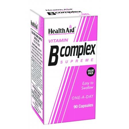 HEALTH AID Β-COMPLEX 90 CAPS-ECONOMY