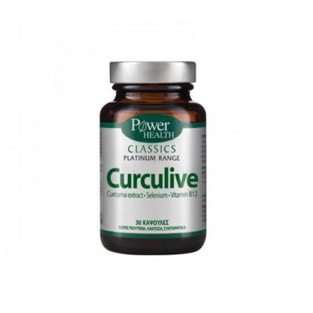 POWER HEALTH PLATINUM CURCULIVE 30S CLASSICS CAPS