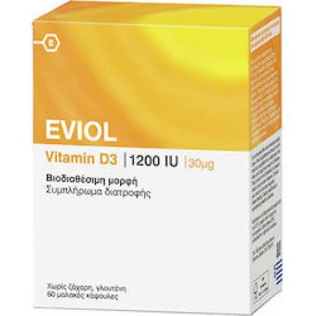 EVIOL VITAMIN D3 1200IU x 60