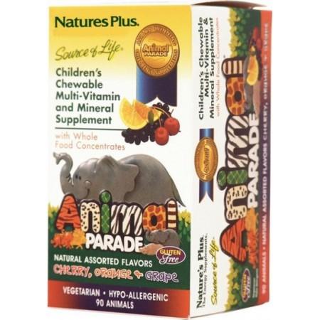 NATURE`S PLUS ANIMAL PARADE ASSORTED  90