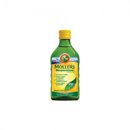 NATURE`S PLUS MOLLER'S ΜΟΥΡΟΥΝΕΛΑΙΟ NATURAL 250ML