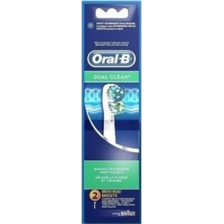 ORAL-B ΑΝΤΑΛΛΑΚΤΙΚΑ DUAL CLEAN 2TEM