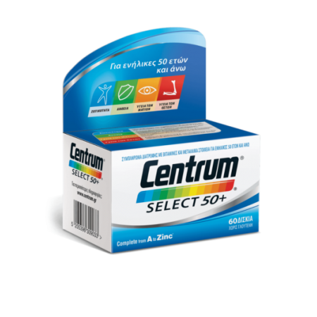 CENTRUM SELECT 50+ TABL X60