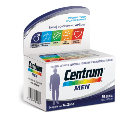 CENTRUM MEN TABS 30'S