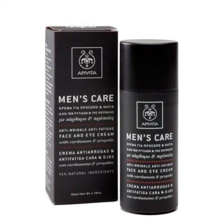 APIVITA MEN'S CARE ANTI-WRINKLE CARD-PROP 50ML