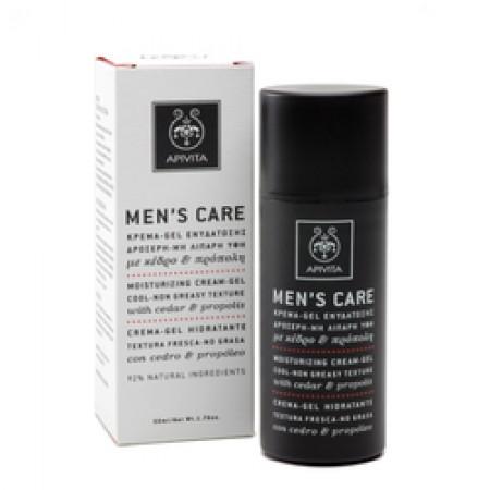 APIVITA MEN'S CARE  CREAM GEL CED-PR 50ML