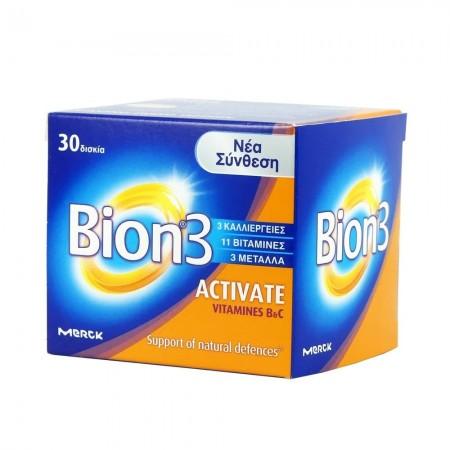 BION 3 ACTIVATE  TABS X 30