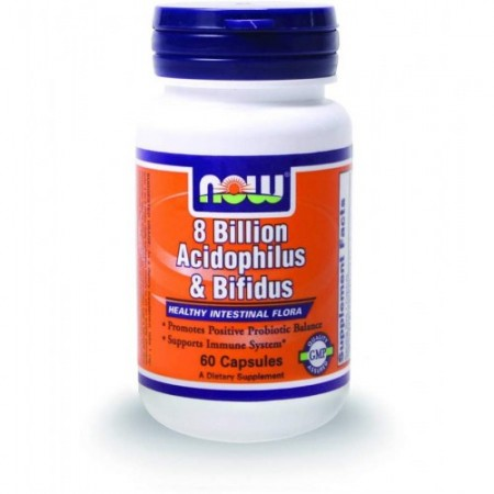 NOW ACIDOPH/BIFIDUS 8 BILLION 60 VCAPS