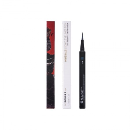 KORRES MINERAL EYELINER PEN BLACK 1ml
