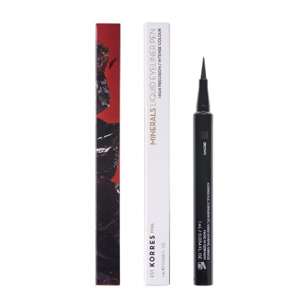 KORRES MINERAL EYELINER PEN BROWN 1ml