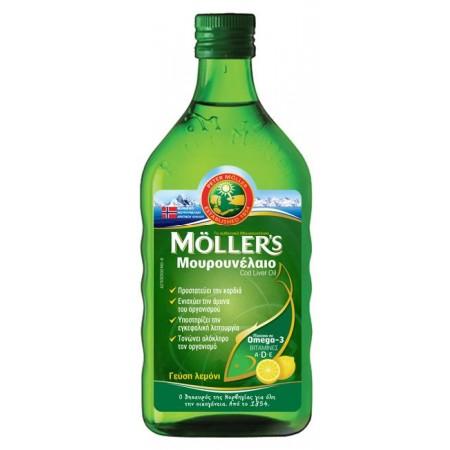 NATURE`S PLUS MOLLER'S ΜΟΥΡΟΥΝΕΛΑΙΟ LEMON 250ML