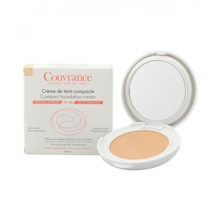 AVENE COUVRANCE OIL-FREE 02 NATUREL COMPACT 10G
