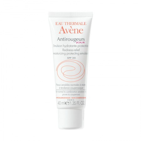 AVENE ANTIROUGEURS JOUR EMULSION LEGERE SPF20 40ML
