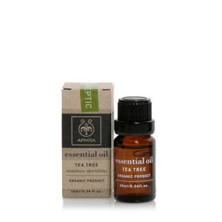APIVITA ESSENTIAL OIL TEA TREE 10 ML