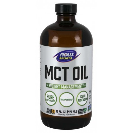 NOW MCT OIL, 100% PURE VEGETERIAN 32 OZ